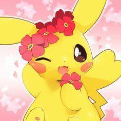 Pikachu Pikachu, Female Pikachu, Cute Pokemon Pictures, Pokemon Images, Cute Pokemon Wallpaper, Cute Cartoon Wallpapers, Arte Do Kawaii, Kawaii Anime, Pikachu Evolution