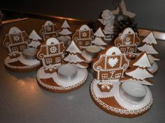 Vánoční perníčky - dekorace Handmade, Hand Made, Handarbeit