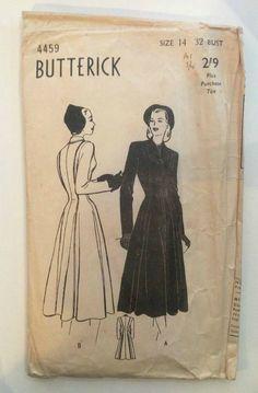Butterick 4459 (1948)