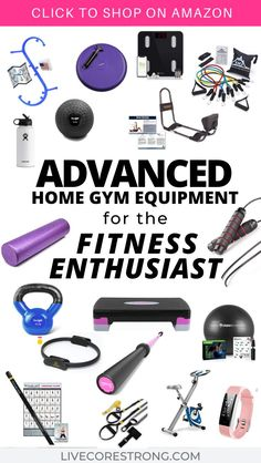 Advanced Home Gym Equipment for the Fitness Enthusiast - Live Core Strong,You're not looking for beginner workout equipment anymore but instead you are looking for some new, innovative home gym equipment ideas. This list of . Best At Home Workout, Mommy Workout, Workout List, Workout Women, Workout Plans, Workout Gear, Bosu Ball, Best Home Gym Equipment, No Equipment Workout