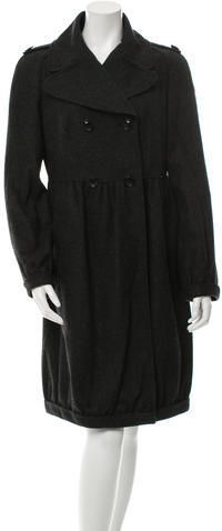 Burberry Long Wool Coat Long Wool Coat, Mantel, Burberry, Stylish, Jackets, Tops, Women, Fashion, Down Jackets