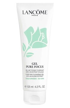 online shopping for Lancome Gel Pure Focus Deep Purifying Oily Skin Cleanser from top store. See new offer for Lancome Gel Pure Focus Deep Purifying Oily Skin Cleanser Cleanser For Oily Skin, Brush Cleanser, Facial Cleanser, Cleansing Gel, Healthy Skin Care, Beauty Skin, Beauty Makeup, Skin Care Tips, Pure Products