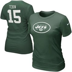 6f150ae3e Tim Tebow New York Jets Women s T-Shirt Eagles Jersey