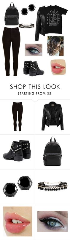 """Untitled #27"" by aminamima ❤ liked on Polyvore featuring Lee, Senso, French Connection and West Coast Jewelry"