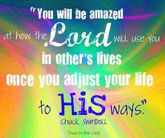 Chuck Swindoll is my favorite Christian author.