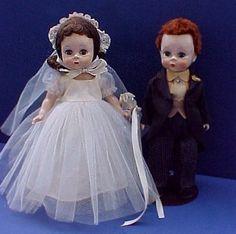 Wendy Bride & Groom Dolls