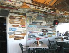 oars and tables sea restaurant
