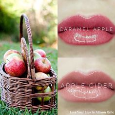 Caramel Apple vs Caramel Latte LipSense Distributer #328364 Love Your Lips by Allison Rafie Follow me on Instagram @luvurlips