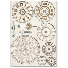 Carved Wooden carvings f. To A5 Mechanisms and watches by Stamperia for Scrapbooks, Cards, & Crafting found at FotoBella.com