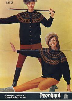 Høstløv 933 S. Sandnes uldvarefabrik A/S. Norwegian Knitting, Wool Fabric, Vintage Knitting, Color Combinations, Crochet Projects, Sheep, Knitting Patterns, Colour, Crafts