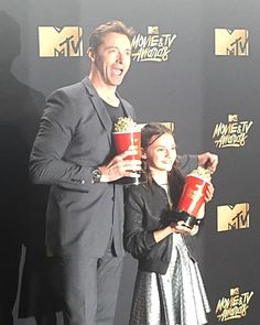 "309.9k Likes, 1,457 Comments - Hugh Jackman (@thehughjackman) on Instagram: ""Best DUO ever! Love you Daf. Thanks so much @mtv"""