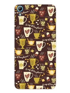 Cup Of Tea - Designer Mobile Phone Case Cover for HTC 826
