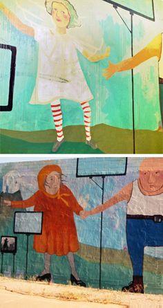 love angela cazal jahn's phoenix murals. here's a list of 10 favorite street art sightings.