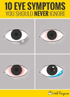 Doctors say recognizing these eye symptoms can save your vision  #eyecare http://ncnskincare.com/