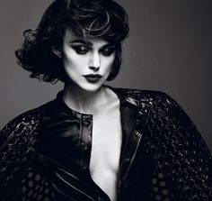 Stunning Kira Knightley on the cover of Interview Magazine