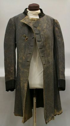 This Confederate officer's frock coat belonged to Robert Lowry. Accession number: 1960.157.1a (MDAH Museum Division collection)