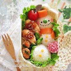 Japanese Lunch Box, Japanese Food, Jai Faim, Creative Food Art, Cute Bento, Christmas Snacks, Bento Box Lunch, Cute Food, Food Design