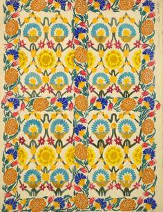 Leon Bakst. Textile design, c1922.