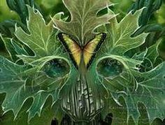 "Katherine Rose Barber Art - Bing Images -- ""Tears of the Earth Greenman"""