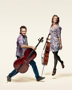 Julian Thompson and Melissa Barnard. Photo by Gary Heery.