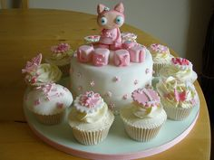 Waybuloo Cake & Cupcakes by angelicakebysian, via Flickr