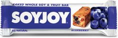 SOYJOY- one of the few soy protein based bars that uses whole soybeans instead of chemically-processed soy protein isolates.