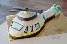 Dort letadlo, vrtulník. Helicopter cake Helicopter Cake, Birthday Cakes, Planes, Cake Ideas, Airplanes, Birthday Cake, Plane, Happy Birthday Cakes