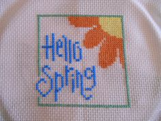 Hello Spring! Lizzie kate