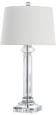 #HavertysRefresh Accents, Classic Column Table Lamp, Accents   Havertys Furniture