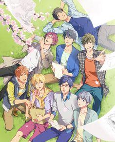 Free!! Makoto / Haruka / Nagisa / Rei / Rin / Sosouke / Momotaro / Nitori