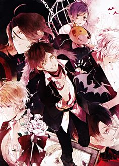 Fall 2013: Diabolik Lovers by Zexcs // Obviously I downloaded this randomly (reverse harem) but found it enjoyable nonetheless.