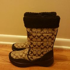 Women's Boots Brand new Coach boots Coach Shoes Winter & Rain Boots