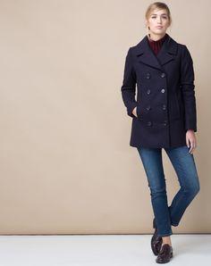 Manteau en laine chine dolce vita