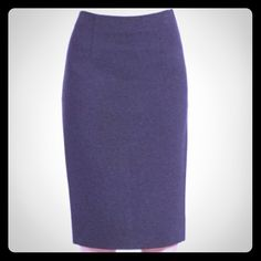 """Pendleton All Seasons Wool Charcoal Pencil Skirt Perfect condition.  All seasons wool.  Fully lined, zips up the back, back slit for ease of movement.  98% Wool 2% Lycra.  Lightweight fabric is great for any season.  Approx measurements laying flat: waist 14.5"""", hips 18"""", length 25.5"""", slit length 6"""". Pendleton Skirts Pencil"""