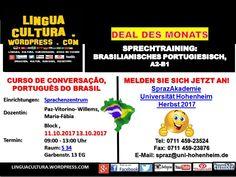 Cursos de Português -  10/2017 Portugiesischkurs für den Herbst 2017!! LINGUACULTURA.WORDPRESS.COM: SEU SITE EDUCATIVO