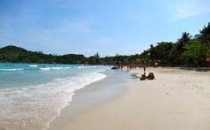 Best beach - amazed ... Haad Rin Beach, Koh Phangan, Thailand (2012)