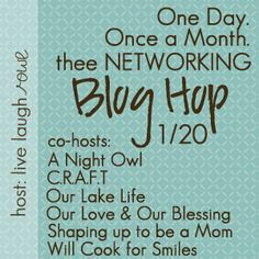 Thee Networking Blog Hop! Come link up to network and find new blogs!