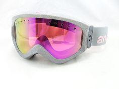 New Anon Majestic Women's Ski Snowboard Snow Goggles Agent w 2 Sets of Lens | eBay