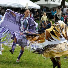 Native American Dance festival, beautiful event we never miss.