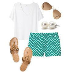 "Totally cute for summer! ""Casual prep"" by monogrammed-madison on Polyvore"