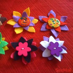 Easy to do #feltflowers   Click the live link for instructions.   #hearit on #Seemail