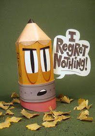 Custom Paper Toys: Free Papertoy of the Month February: Stubby---Je ne regrette rien( I regret nothing)!!