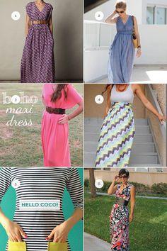 Slice of the Week :: DIY Maxi Dresses - Domestic Slice
