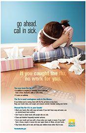 Flu—Go ahead, call in sick