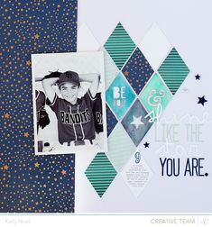 Shine Like The Star You Are - Studio Calico Blue Note Kit - Kelly Noel