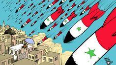 Andy Watt: www.folioart.co.uk/illustration/folio/artists/illustrator/andy-watt - Agency: www.folioart.co.uk - #illustration #art #digital #syria