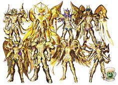 Boteco de OA: Saint Seiya: Soldiers Soul - Veja 8 dos 12 cavaleiros com suas armaduras divinas