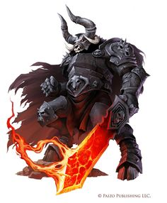 Pathfinder: Minotaur Labyrinth Guardian by WillOBrien.deviantart.com on @DeviantArt