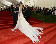 Katie Holmes attend the Costume Institute Gala for the