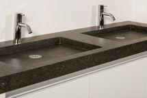 Wasbak natuursteen - natuurstenen wastafel | Granito Natuursteen Design